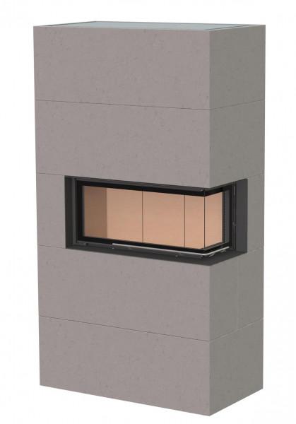 kaminbausatz brunner bsk 07 architektur kamin eck rechts schiebet r hoch 10 kw kaufen cafiro. Black Bedroom Furniture Sets. Home Design Ideas