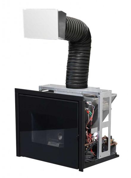 Pelleteinsatz wasserführend MCZ VIVO 80 HYDRO, 16,9 kW