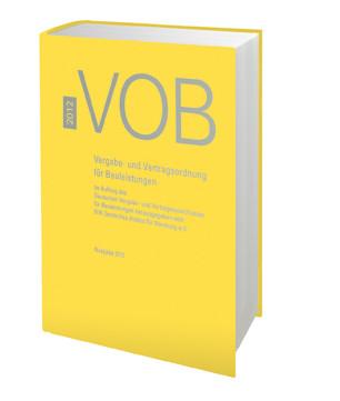 VOB Gesamtausgabe 2012, Buch
