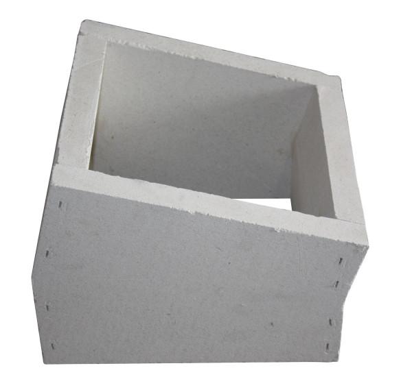 F90 Schacht Bogenelement 15° aus Kalziumsilikat-Platten - eka L90 Compact