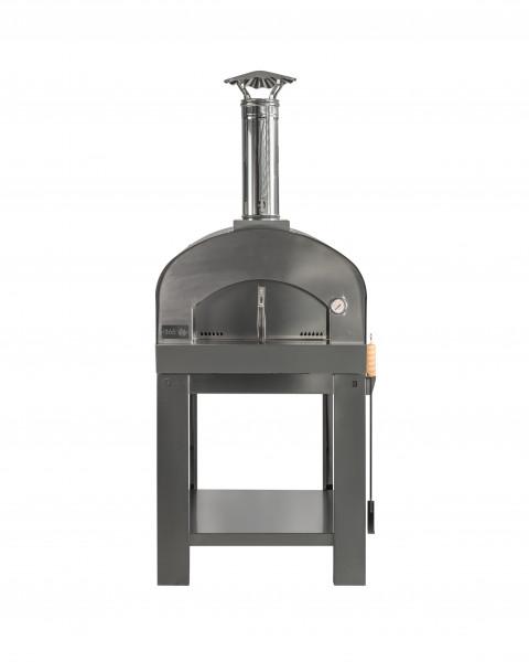 Pizzaofen Edelstahl mit Untergestell MATTEO M Feuercampus365