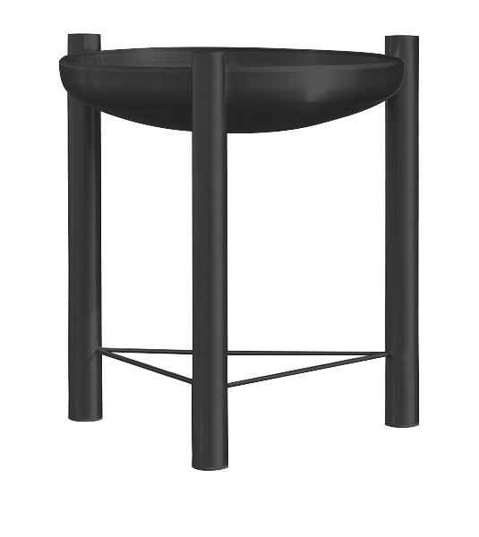 Ricon Feuerschale 0585, beschichtet, schwarz, Ø 90 cm