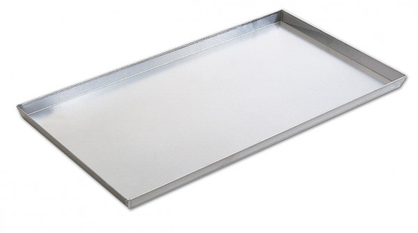 Grillschale flach Aluminium, 51 x 37 x 3 cm