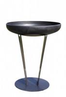 Ricon Feuerschale 0800, Stahl geölt, Ø 70 cm - SM0800-ST70