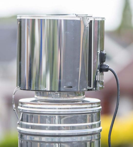 Rauchsauger Exodraft RBV1 für feste Brennstoffe