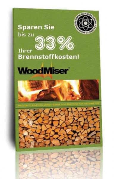 Kaminofen Holzeinsparung WOODMIZER, 14 x 28 cm