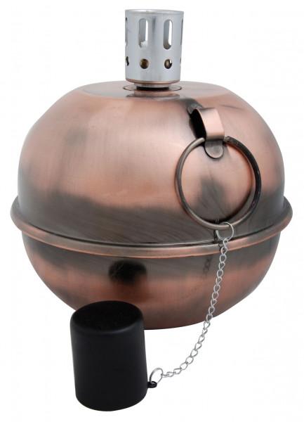 Öllampe Gartenlampe Kupfer, 20 x Ø 20,7 cm
