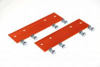 Verbindungsstücke für Dachleitern, Aluminium, kupferbraun, starr - SM85872