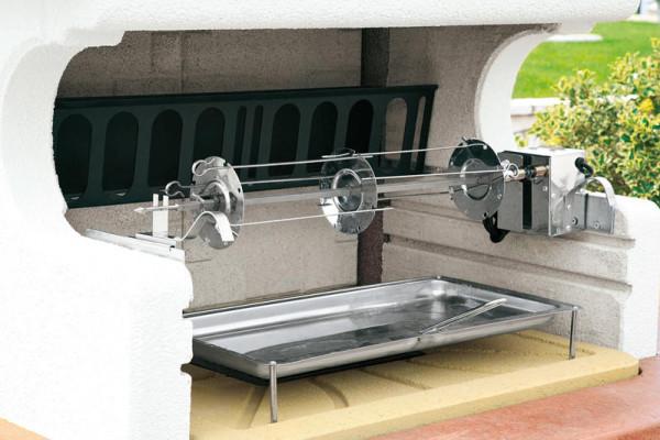 Grillspieß LUX mit Elektromotor 76 cm