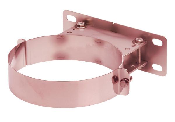 Wandhalter verstellbar 50-90 mm doppelwandig verkupfert - eka complex D 50