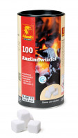 Kaminanzünder Wachs, Dose 100 Würfel - SM82244