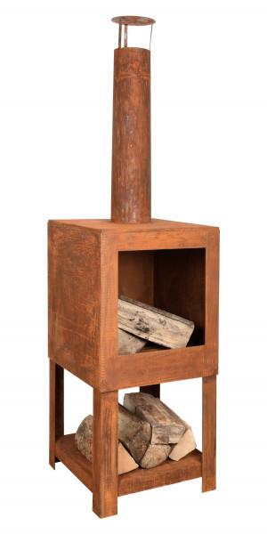 Terrassenofen Rost 38 x 38 x 136 cm