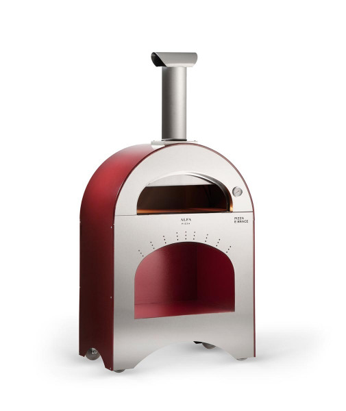 Pizzaofen Edelstahl Alfa Pizza PIZZA E BRACE