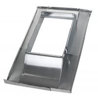 Dachdurchführung Eindeckrahmen titanzink - verstellbar - SM1020512