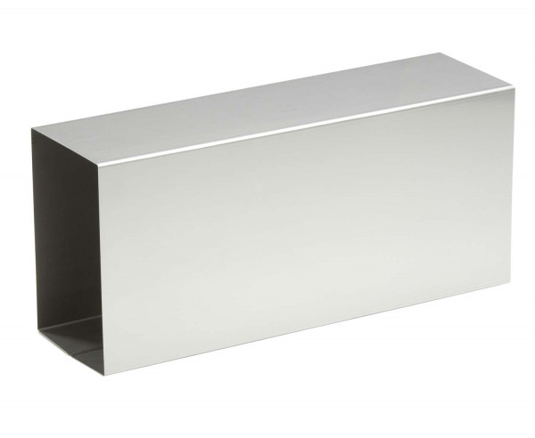 Verlängerungsstutzen 120 x 180 mm für Kamintür, V4A Edelstahl