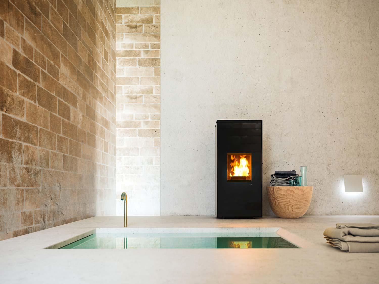 pelletofen mcz tilda comfort air maestro 10 kw kaufen. Black Bedroom Furniture Sets. Home Design Ideas