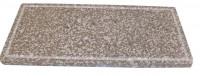 Pizzaplatte Speckstein mit umlaufender Nut 25 x 48,5 cm - SM4008028