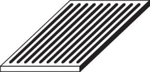 Ofenrost Gusseisen, 16 x 26 x 1,5 cm
