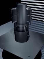 Schachtabdeckung Kunststoff Flex mit Mündungsrohr - Schräder Future PP - SM5550060