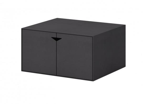 Nordpeis BOX Modul klein, schwarz mit Tür