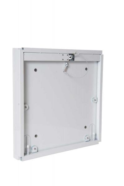 Revisionstür mit Schnappverschluss ohne Dämmplatte 30 x 45 cm weiß