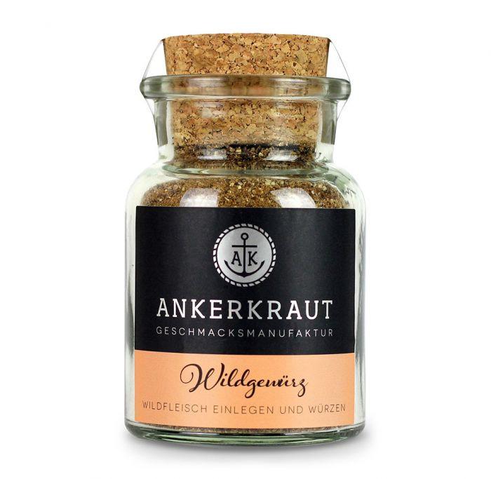 Ankerkraut Wildfleisch Gewürz 85 g im Glas