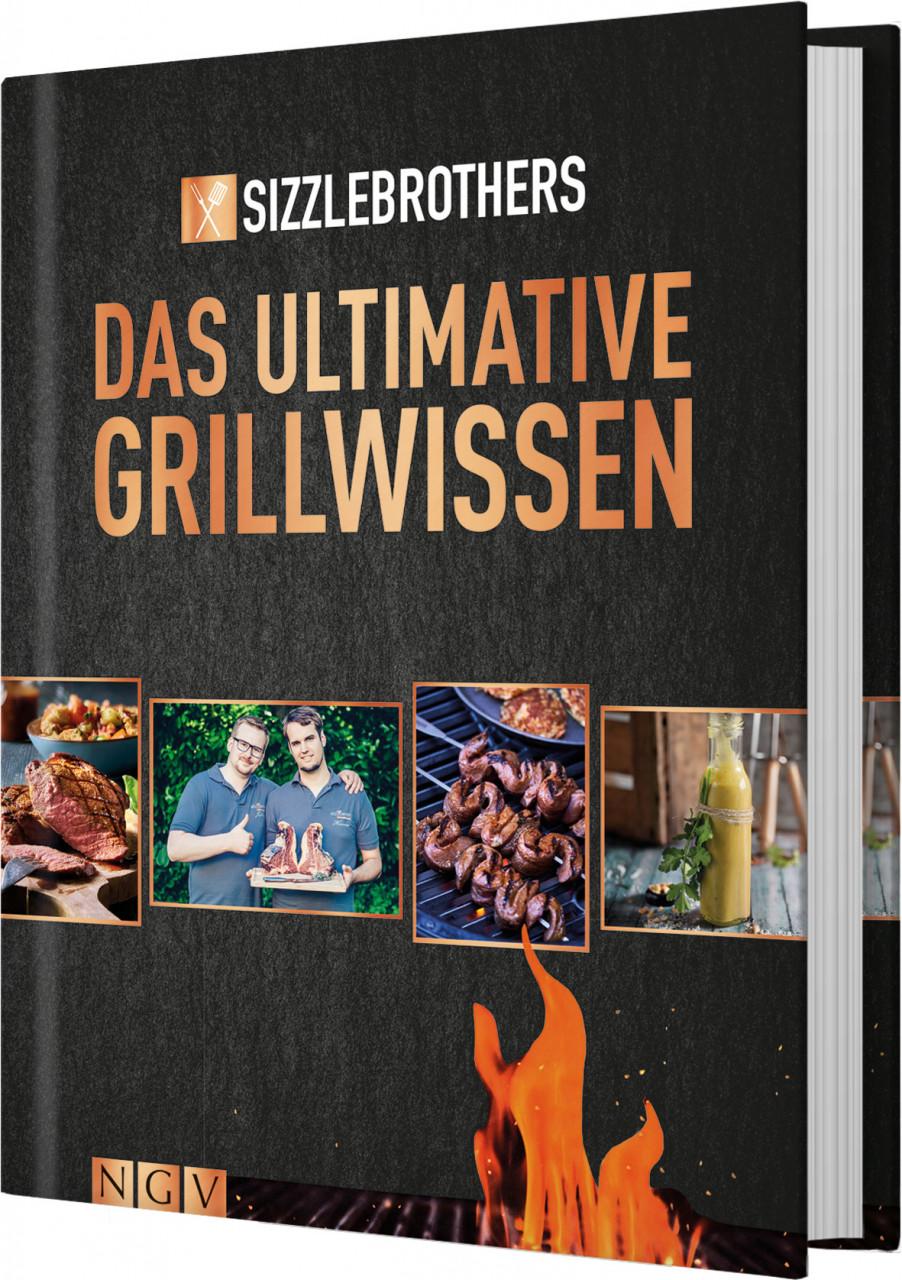 AHA Buch Das ultimative Grillwissen - Das Grillbuch der YouTube - Stars