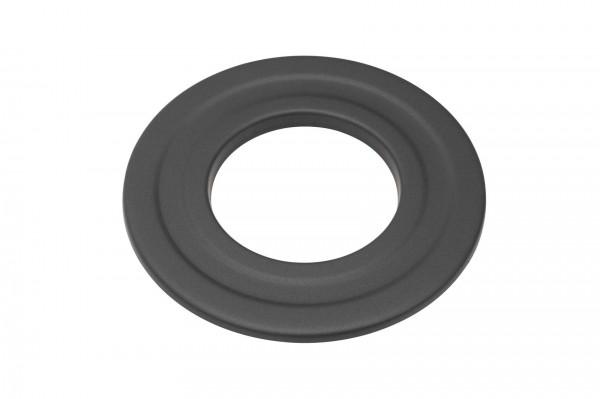 Wandrosette Pellet-Ofenrohr Stahl schwarz