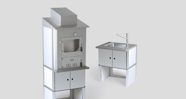 Sommerküche Module : Outdoorküche günstig kaufen cafiro®