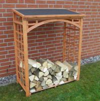 Promadino Brennholzregal ROMA, 147,5 x 119,5 x 66 cm - SM355-11