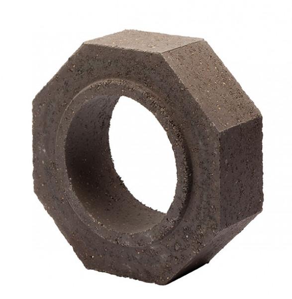 Keramik Modul Speicher 240 Rohr Halbteil 240 x 240 x 80 mm