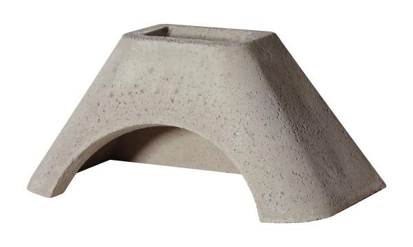 Betonhaube Grillkamin grau, 84 x 47 x 41 cm