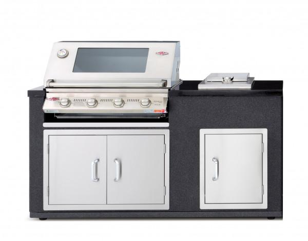 Outdoorküche Mit Kühlschrank Preis : Outdoorküche grillmodul artisan beefeater s s seitenbrenner