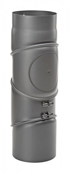 Rauchrohrbogen Stahl 4-teilig verstellbar Ø 150 mm schwarz