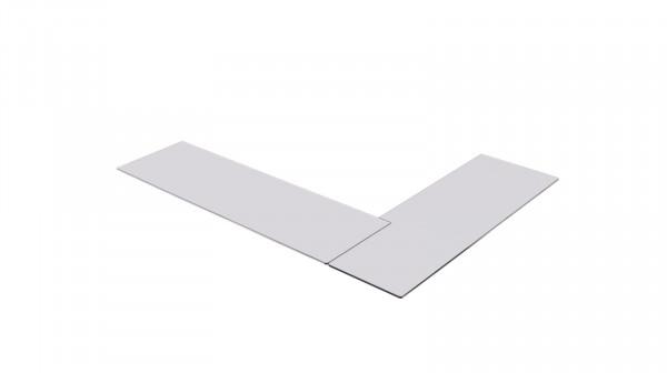 Vorlegeplatte ESG Klarglas Kaminbausatz MONACO C mit Bank