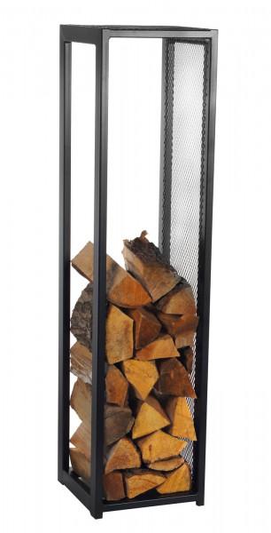 Kaminholzregal Innen Stahl R119 schwarz, 30 x 30 x 120 cm