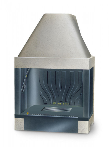 Feuerraum Bausatz Palazzetti C64 Gusseisen, gerade