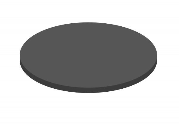 Abdeckung Stahl mit Öffnung für Feuerschale mit Grillplatte Ø 105 cm