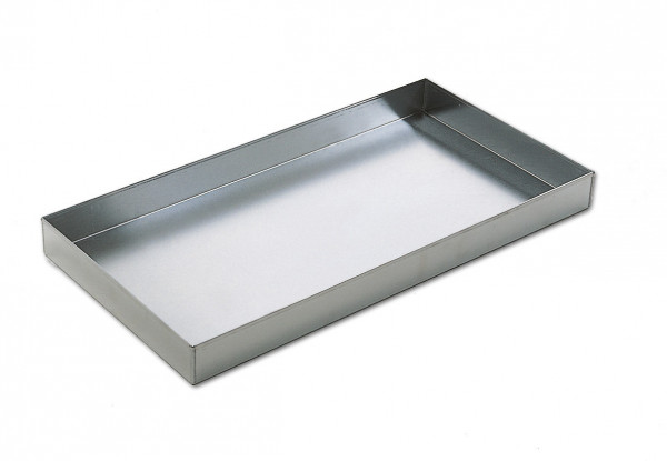 Grillschale tief Aluminium, 73 x 37 x 6 cm
