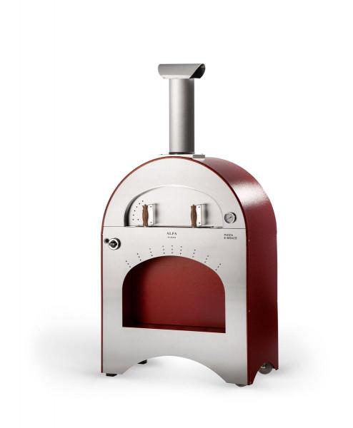 Gas Pizzaofen Edelstahl Alfa Pizza PIZZA E BRACE