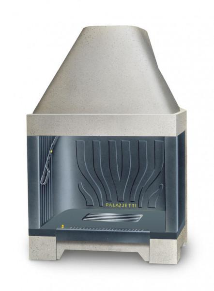 Feuerraum Bausatz Palazzetti C78 Gusseisen , gerade