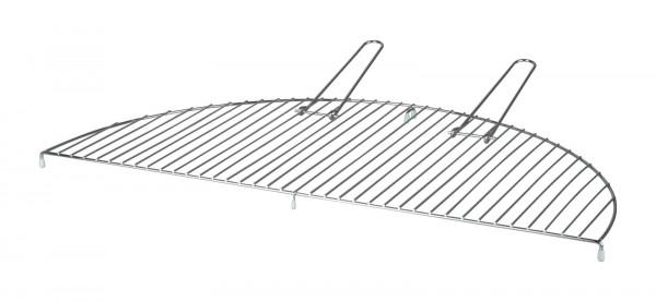 Grillrost halbrund Carbonstahl Esschert 73 x 37 x 2,3 cm
