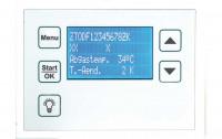 Compact Display für Ofenregelung, Aufputz weiß - SM1008804