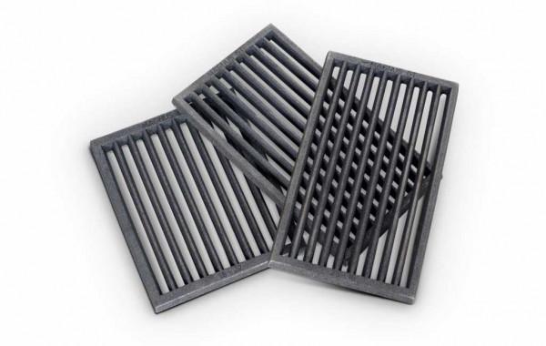 Ofenrost RP2 Gusseisen schwarz, 18 x 22 x 1,5 cm