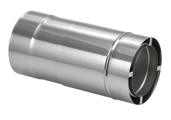 Längenausgleichsrohr 420-620 mm doppelwandig - eka complex D 25
