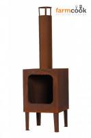 Terrassenofen Rost Stahl COLORADO - SME00188-R