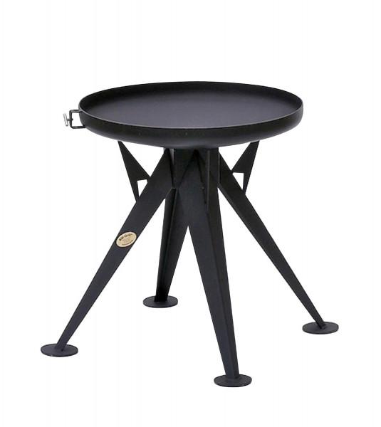 Nielsen Bal Grill 600 als Feuerschale, schwarz