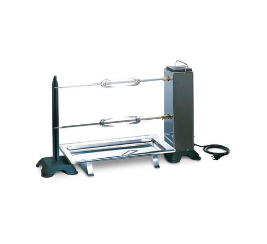 Grillspieß mit 2 Elektromotoren 90 x 30 x 44 cm