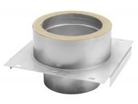 Konsolplatte als Zwischenstütze Edelstahl doppelwandig - eka complex D 25 - SM2250113BPZ