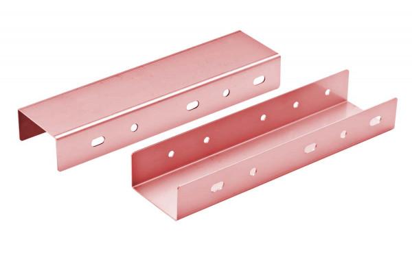 Konsolenverlängerung starr 100 mm doppelwandig verkupfert - eka complex D 25